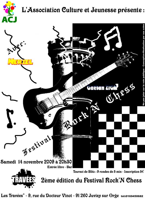 2ème Festival Rock'N Chess